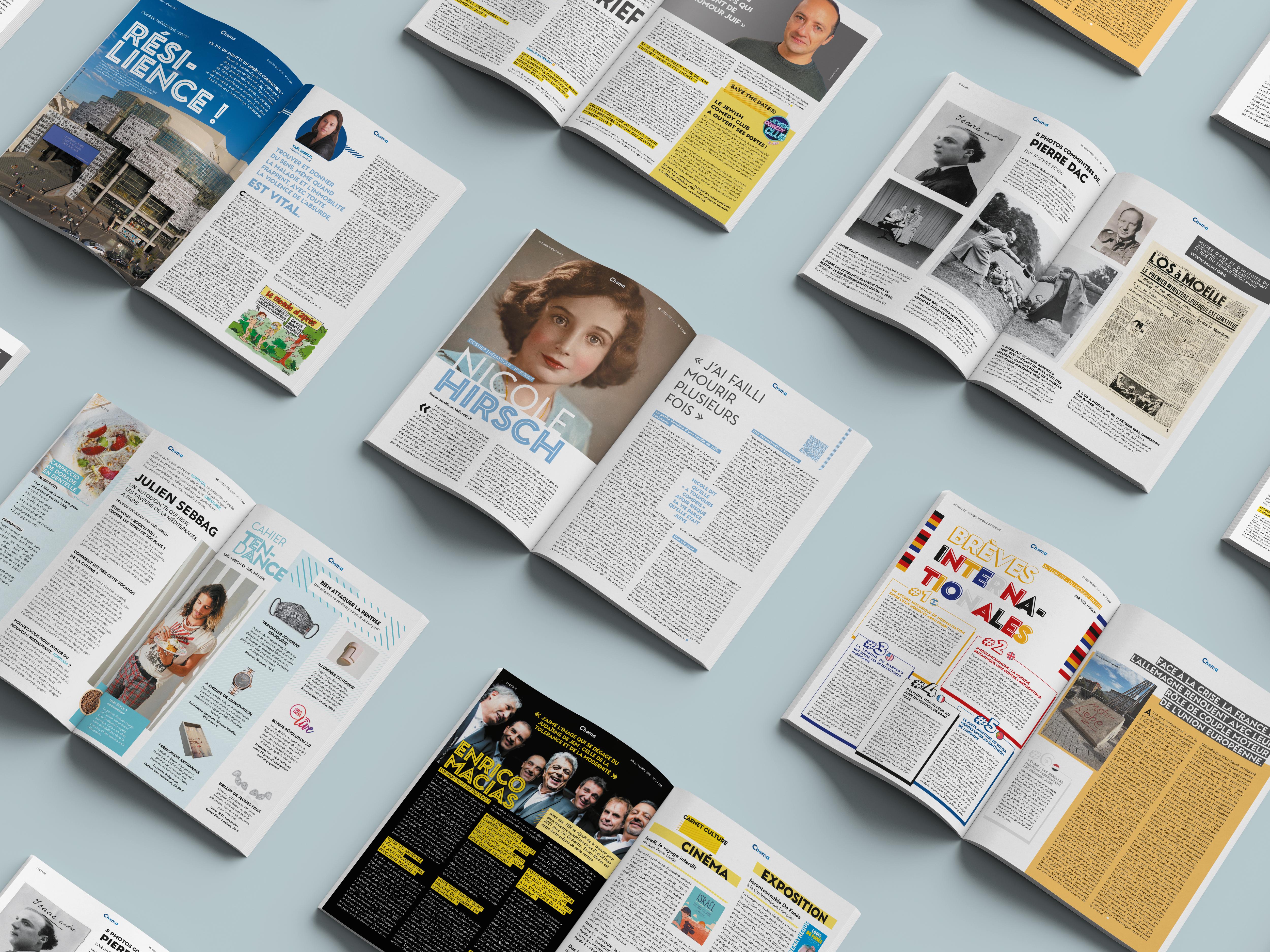 Magazine Set Mockup by Anthony Boyd Graphics